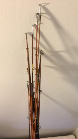 Lot of Approx. 20 Fly Rod Tips