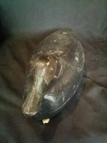 Antique/Vintage Duck Decoy Carved & Painted Wood