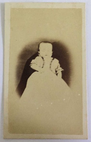 Antique Photograph Post Mortem - Child