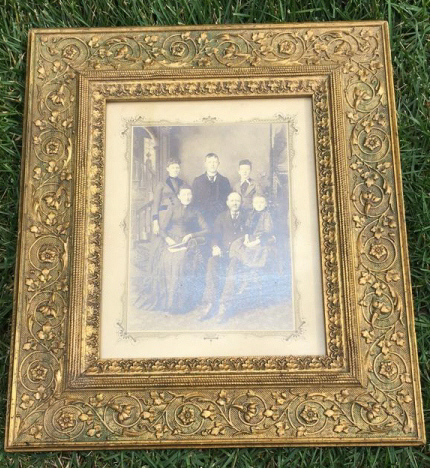 Antique Photograph Family Group