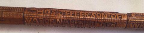 Antique Thomas Jefferson Cane/Walking Stick