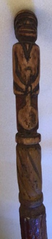 Civil War Era Folk Art Cane