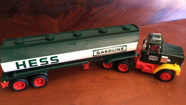 Vintage Hess Tanker Truck Dated 1984