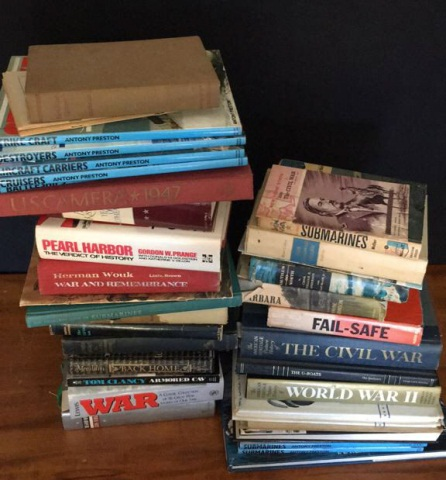 Lot of 40 Books Regarding War & Military