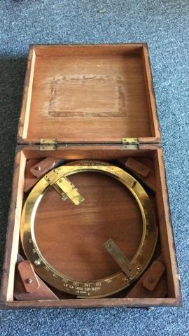 Vintage U.S. Navy Bearing Circle