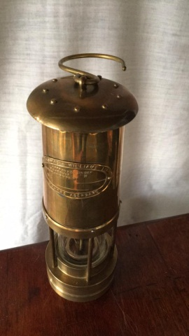 Antique Thomas & Williams Miner's Lamp