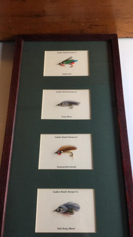 Karen A. Gibbs Mounted Trout Flies