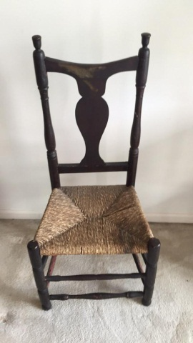 Early New England Queen Anne Side Chair