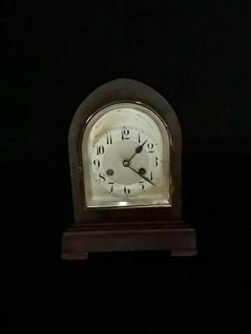 Antique German Beehive Shelf Clock