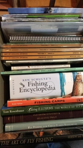 Lot of 15+ Fishing related books