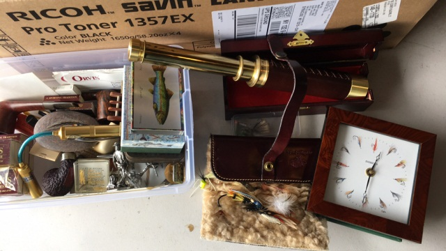 Lot: Misc. Fishing Collector Related Objects
