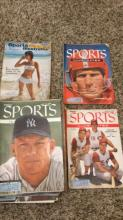 28 Sport's Illustrated Magazines -1954 to 1956