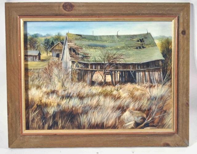 Frank Corso Oil on Canvas