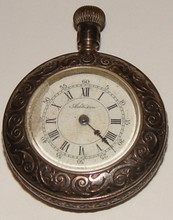 Addison AntiquePocket Watch - Fancy Coin Silver Ca
