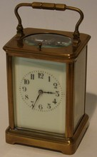 Antique Carriage Clock - 1/4 Hour Repeating Mvt.