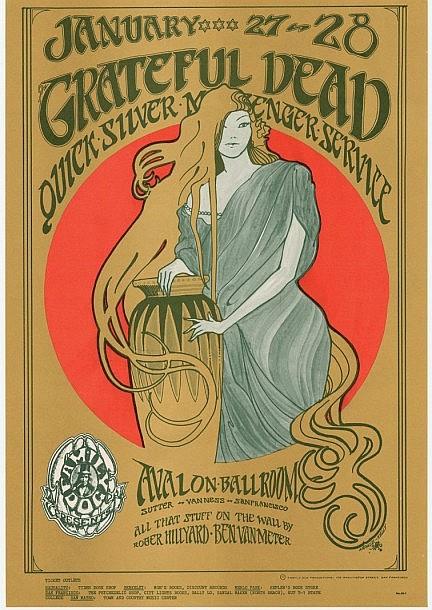 Grateful Dead / Quicksilver Messenger Service - The Avalon