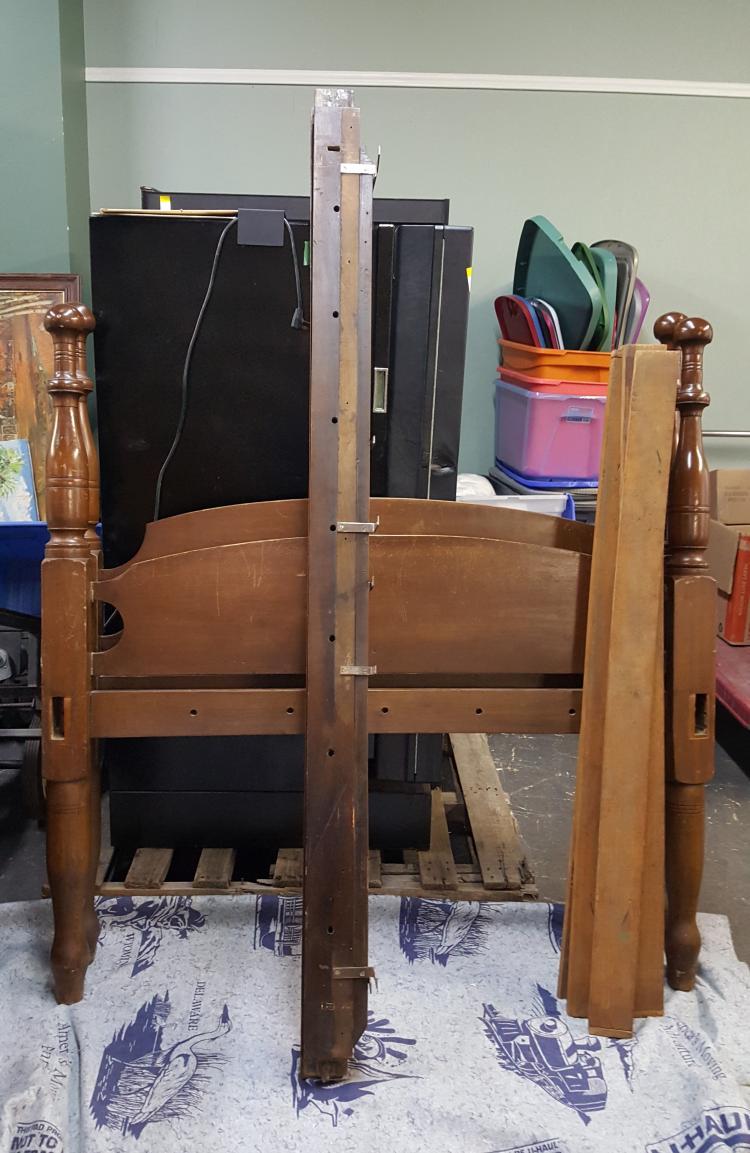 Antique rope bed frame for Rope bed frame
