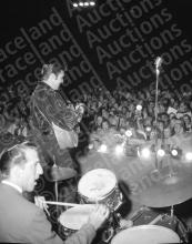 Incredible Terry Wood Photography Archive Chronicling Elvis Presley's September 26, 1956 Concert in Tupelo, MS - Including 43 Original Medium- and Large-Format Negatives