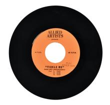United Artists 7-Inch Radio Spot Announcement Record for Elvis Presley's <em>Tickle Me</em>