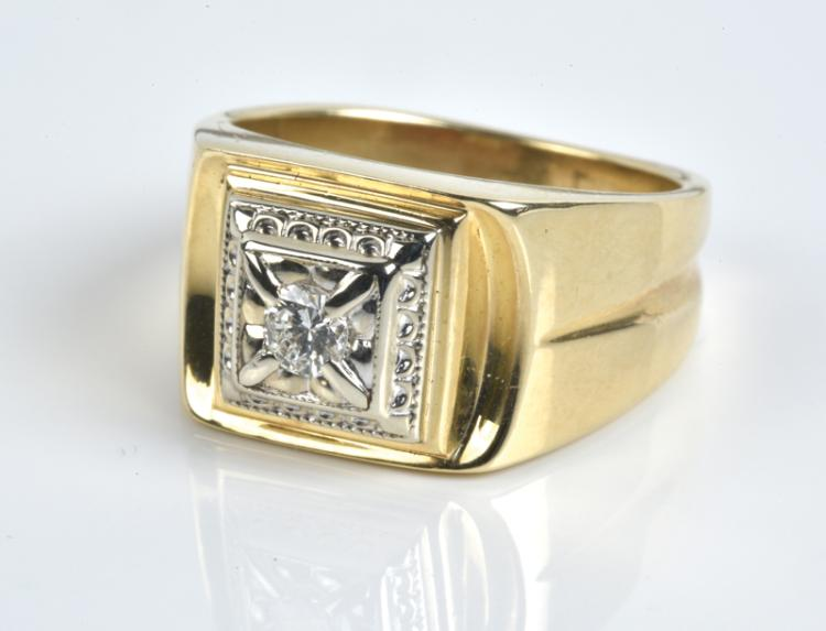Elvis Presley Owned Gold and Diamond
