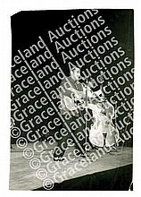1956 Elvis Presley Concert Performance Original Photographs and Related Concert Ephemera