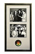 Colonel Tom Parker Signed and Inscribed Photo in Framed Display*
