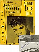Early 1956 Elvis Presley Signed