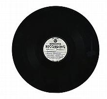 1960 RCA Reference Recording 45 RPM Acetate for Elvis Presley's