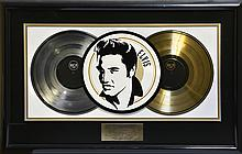 Scotty Moore's RCA Platinum and Gold Record Presentation