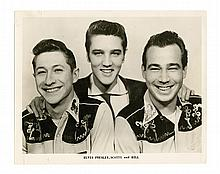 Scotty Moore's Personally Owned Promotional Photos of