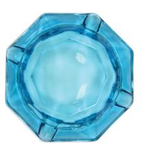 1970s Translucent Blue Glass Ashtray from Elvis Presley's Desk at Graceland