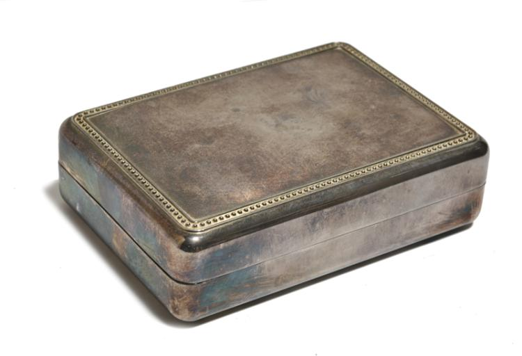 1977 Silvered Jewelry Box from Elvis Presley's Private Dressing Area