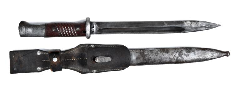 Elvis Presley-Owned WWII German Army Bayonet Brought Back from the Army in Germany