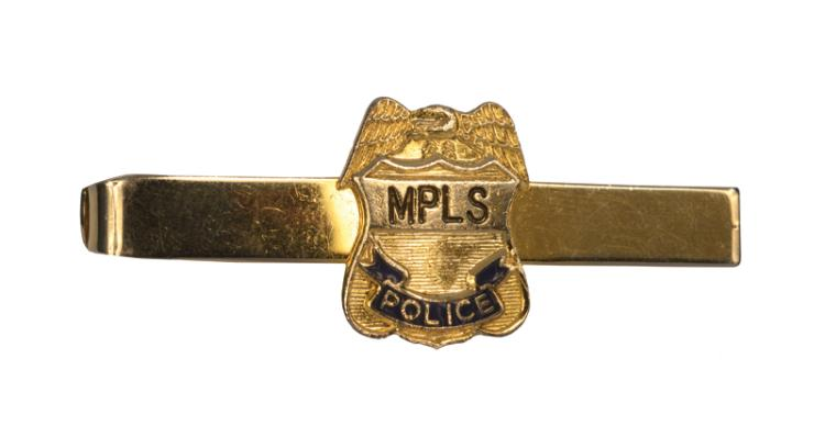 1976 Elvis Presley's Minneapolis, Minnesota MPLS Police Tie Bar