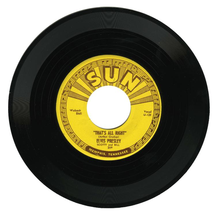 1954 Sun Records 209 Unplayed