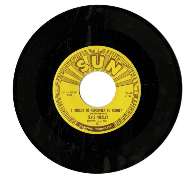 1955 Sun Records 223 Unplayed