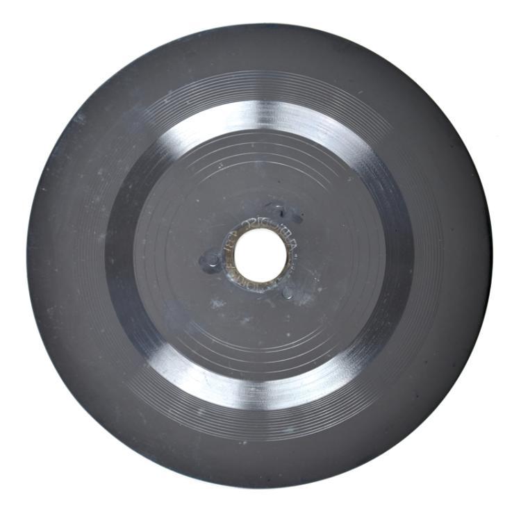 Original 1954 Record Stamper for Sun Records 209, Elvis Presley's