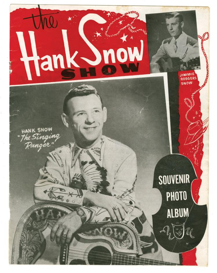 1955 Hank Snow Souvenir Photo Album Featuring Young Elvis Presley - A Rare Early Survivor