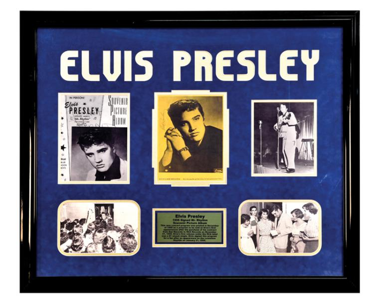1956 Early Elvis Presley Signed