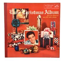 Rare 1957 <em>Elvis' Christmas Album</em> with Gold Gift Sticker