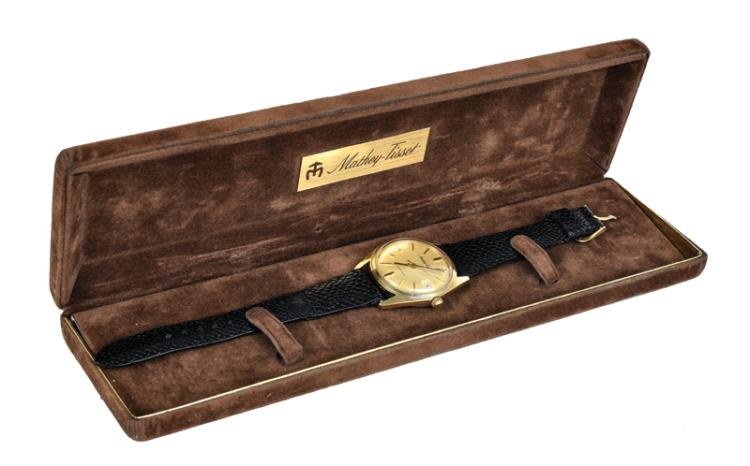 1970s Mathey-Tissot Watch Gifted to Roy McComb (Janelle McComb's Husband) from Elvis Presley