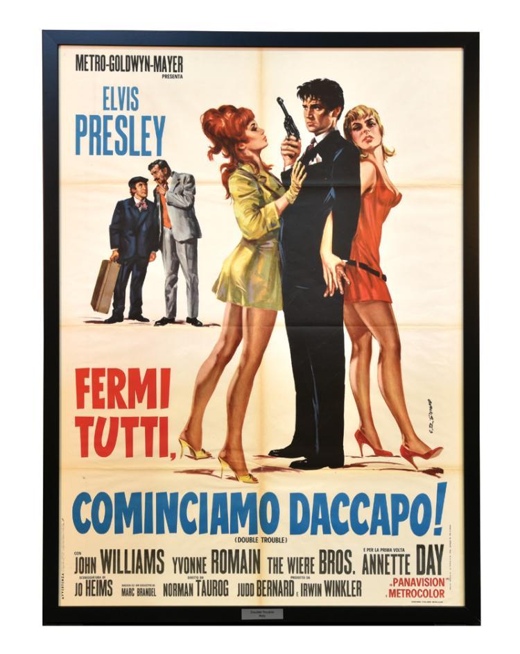 1967 <em>Double Trouble</em> Italian