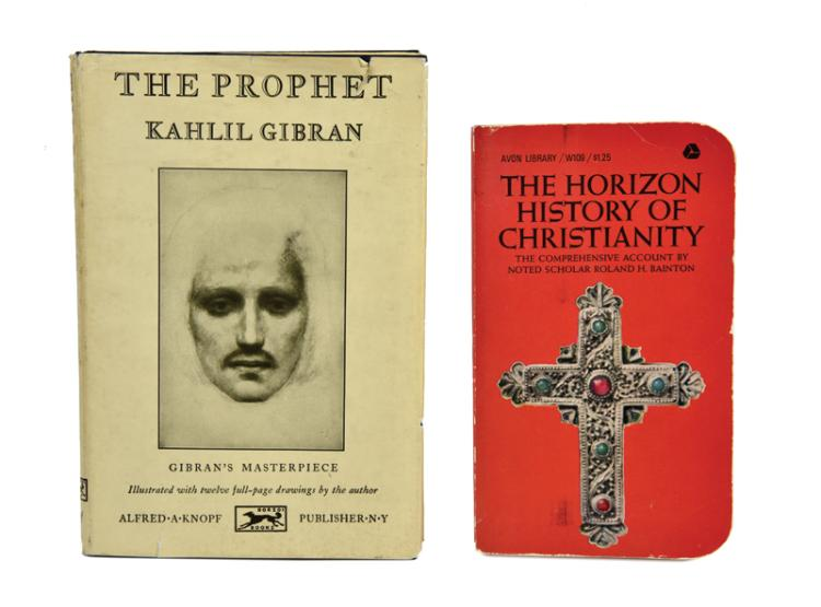 <em>The Horizon History of Christianity</em> and <em>The Prophet</em> Originally from the Library of Elvis Presley