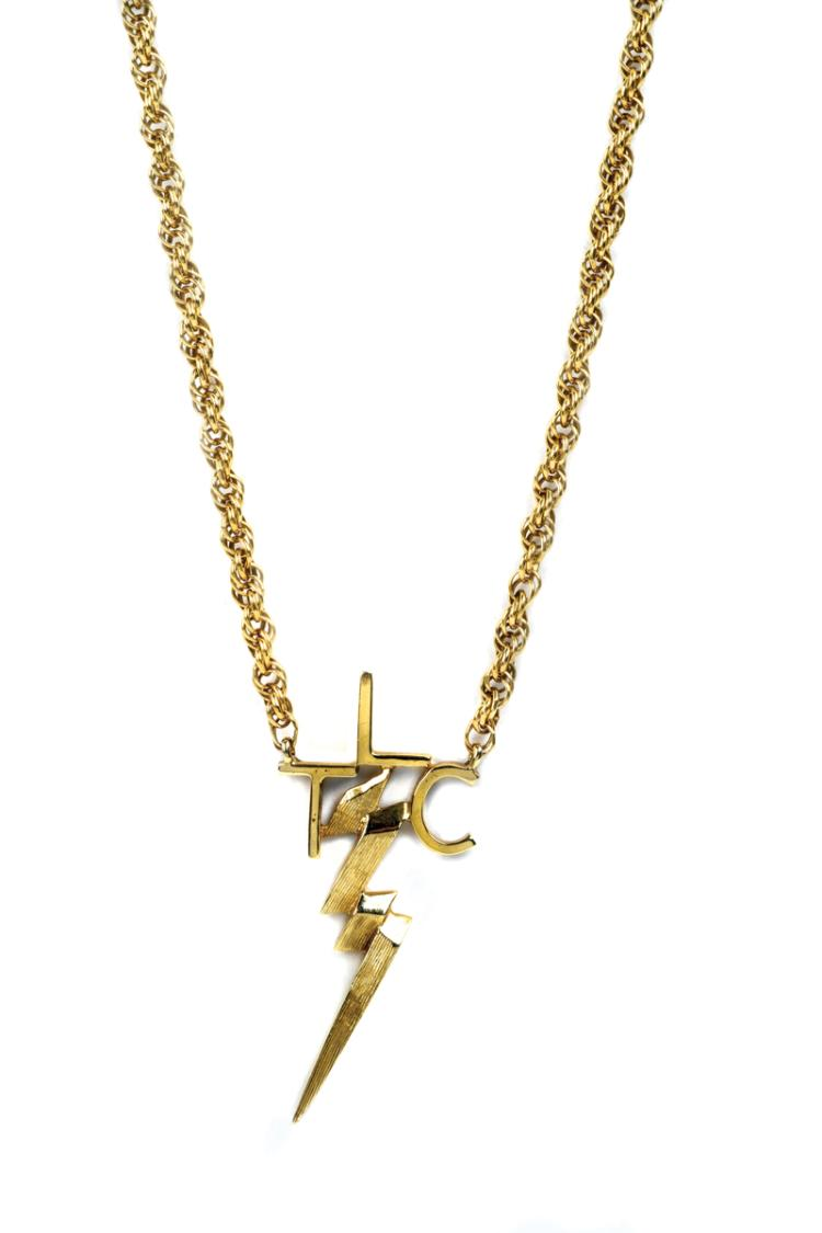 TLC Necklace Given by Elvis Presley to Girlfriend Sheila Ryan