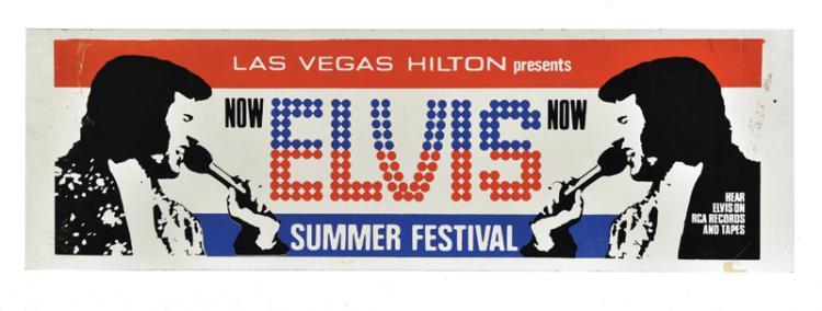 1972 Elvis Presley Las Vegas