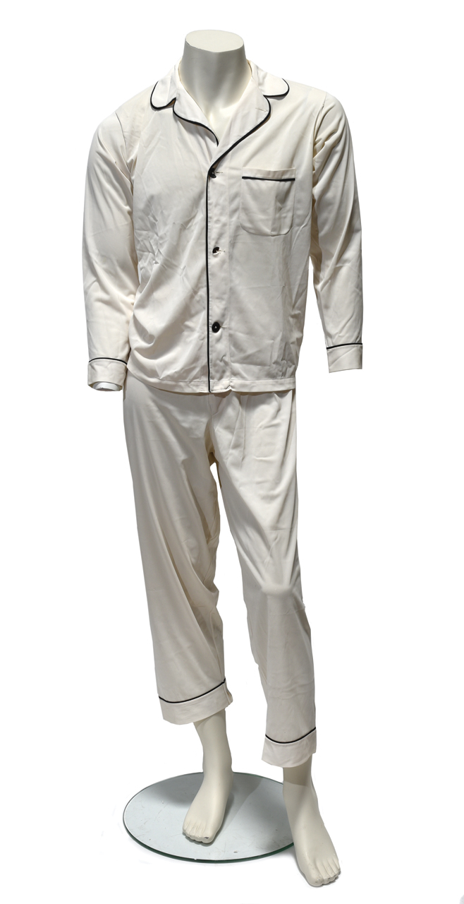 Elvis Presley Owned and Worn Pajamas - Found Among his Personal Effects Left on the <em>Lisa Marie</em>
