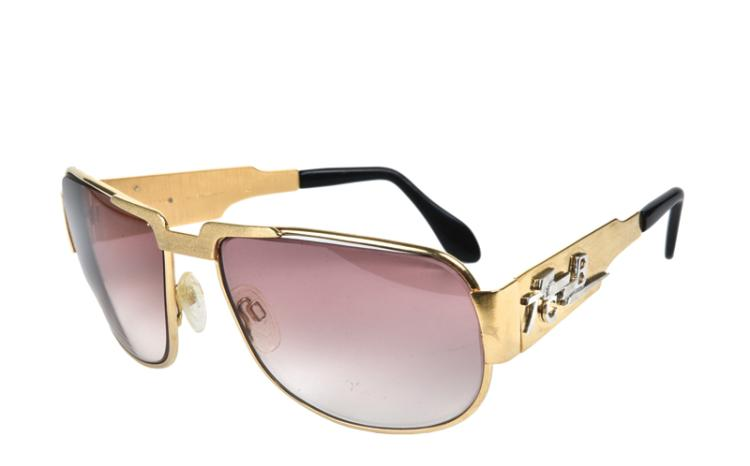 TCB Sunglasses Gifted From Elvis to J.D. Sumner - with Sumner's Replaced Prescription Lenses
