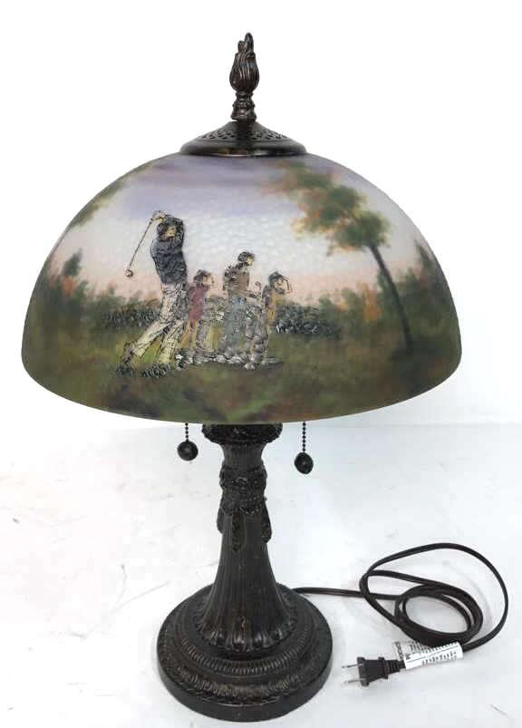 Japanese Hand Painted Lamp Shade