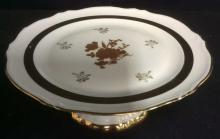 GOUMOT LABESSE LIMOGES FRANCE Cake Plate