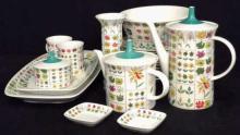 Set 23 Vintage EMILIO PUCCI Tea and Coffee Set